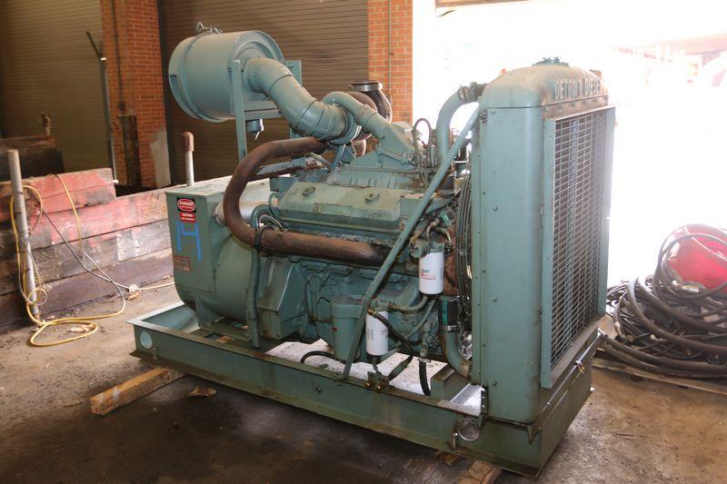 SOLD 150kw Detroit Diesel Generator – Hale Mill Development